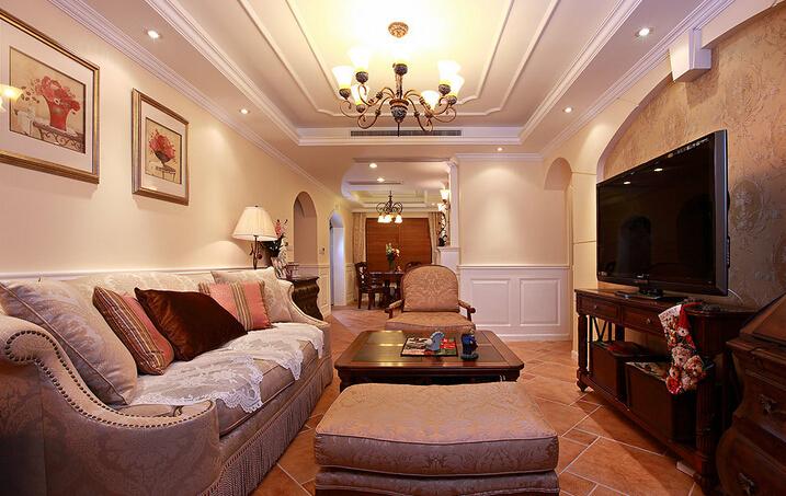 客厅中式装修室内设计怎么做才独具特色
