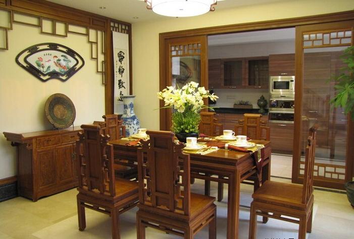 家居中式装修室内色彩有哪些选择技巧