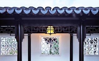 江南风格中式设计别墅  溪花与禅意,相对亦忘言