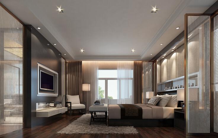 卧室中式装修必须遵循的九项原则