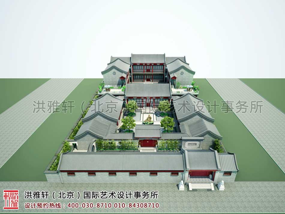 中式古典风格四合院