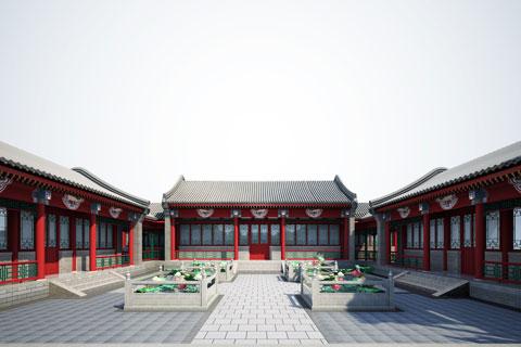 宜昌四合院中式设计 良辰美景奈何天 赏心悦目谁家院