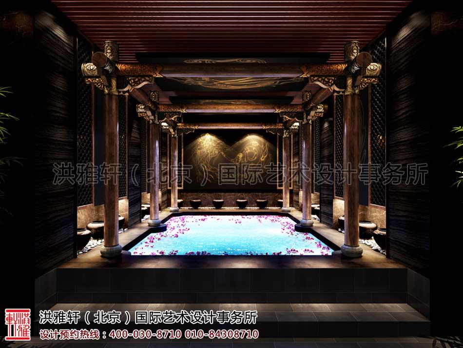 上海古典中式装修休闲会所