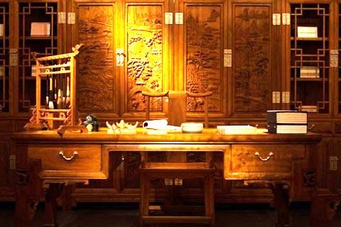 金丝楠木中式古典家具  温润内敛、光而不耀尽显王者之风