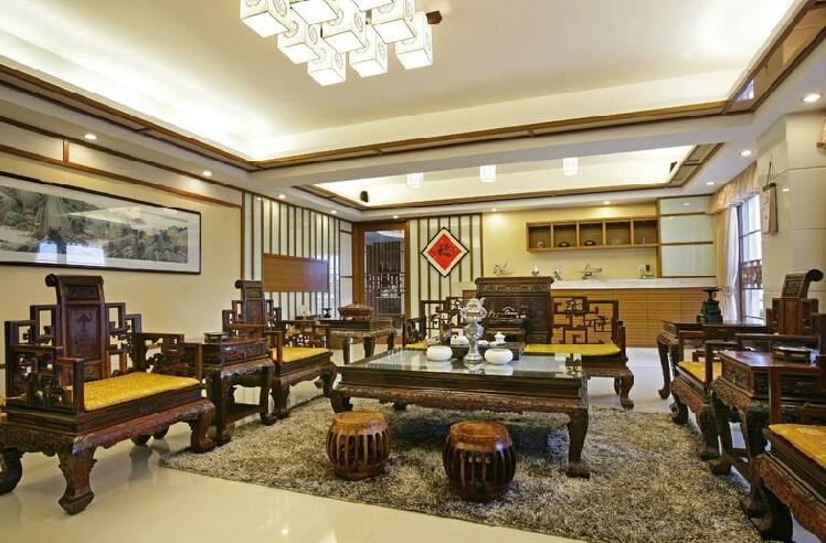 客厅装修风水上茶几如何选择影响业主运势