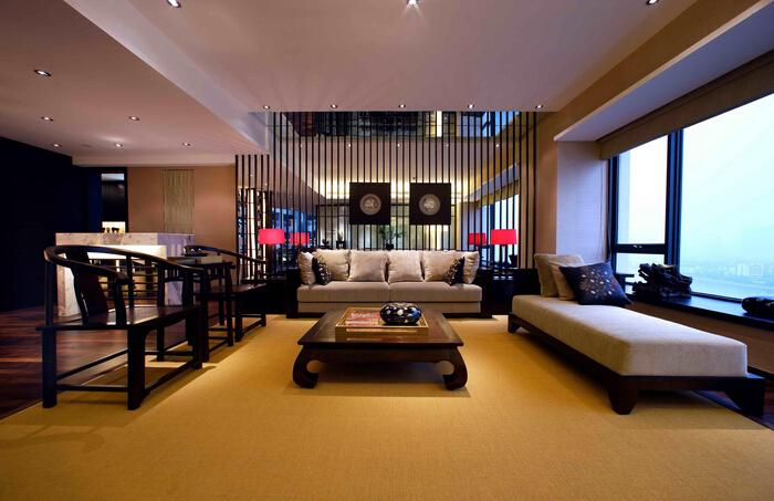 客厅中式装修千万不可忽略财位风水禁忌