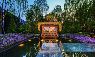 新中式别墅庭院景观的唯美古典情韵