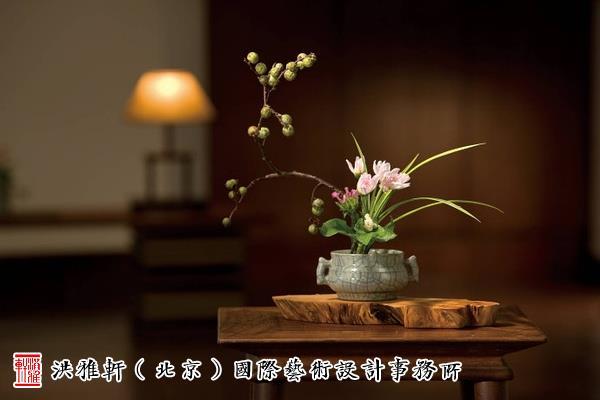传统古典插花