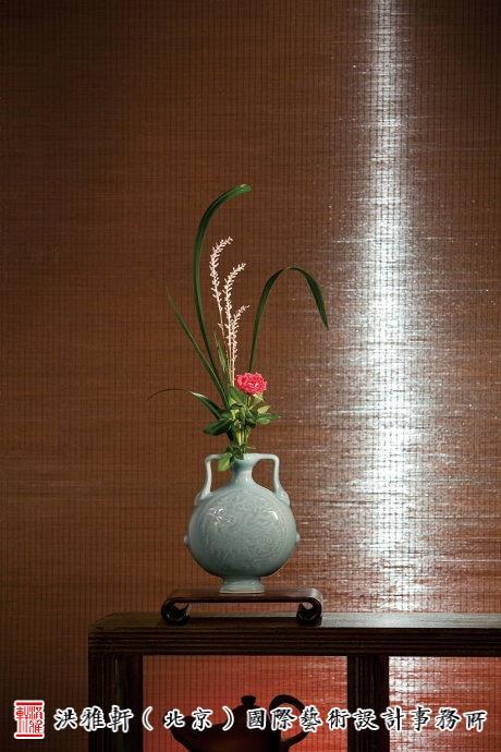 中式插花装饰