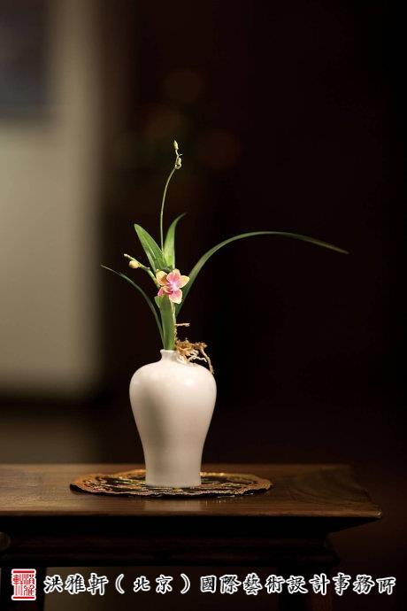 中式古典插花