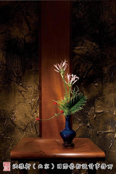中式茶道插花