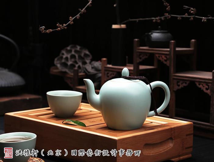 中式茶室茶器