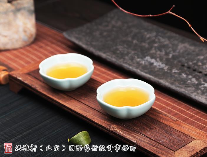 中式空间汝瓷茶具