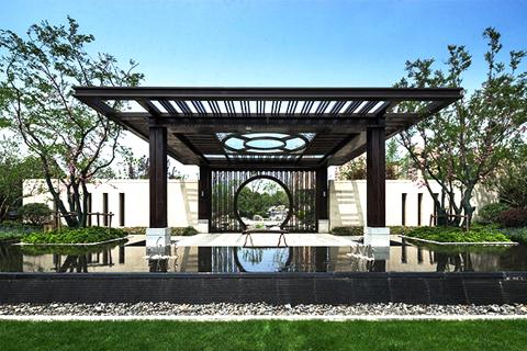 中式别墅宅院深邃意境  诠释清风流云的如水自在