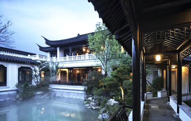 江南风格中式别墅庭院 饱含深远高妙的传统诗画意象