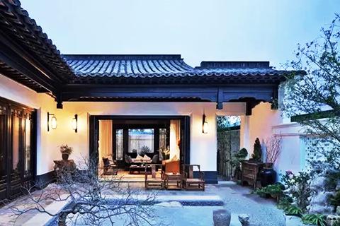 徽派风格中式设计宅院  典藏徽州千年不逝的人文古韵