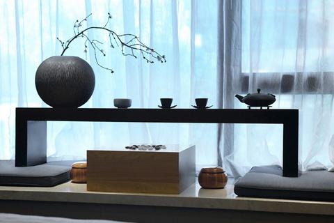 清寂幽深的禅风古韵尽在中式居室空间一景一境中彰显而出