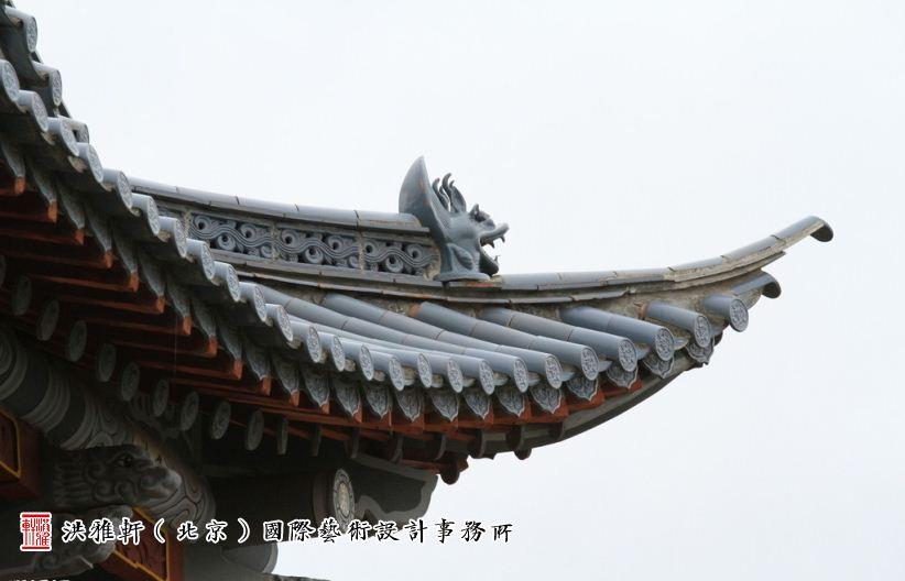 屋檐翹角是傳統建筑的歷史與輝煌