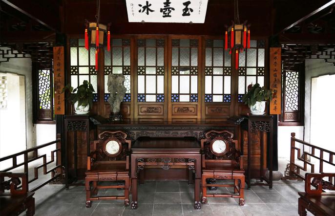 苏州园林古典家具  清越典雅、温婉脱俗的独特魅力