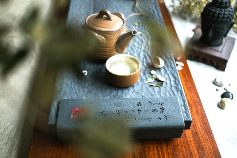 中式空间禅茶之境  一佛一茶一自然,澄怀味象蕴大千