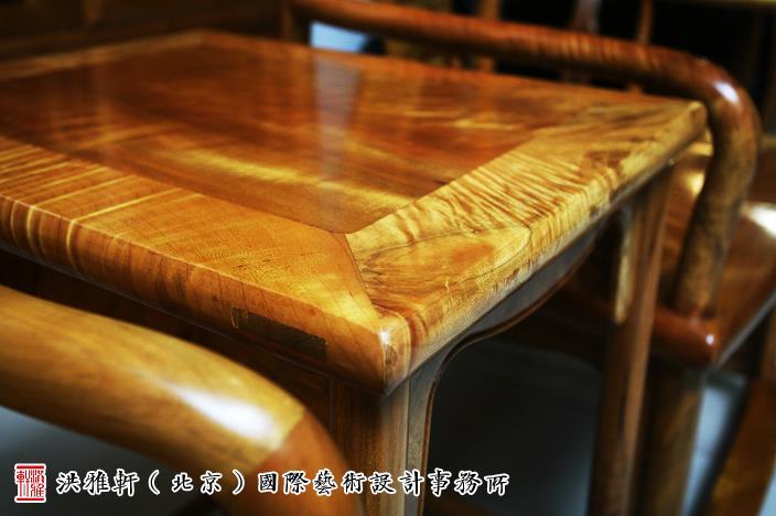 中式空间金丝楠木家具