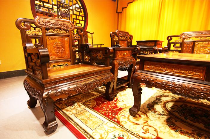 金丝楠木中式古典家具  蕴天地之精华灵气,华而不奢从容优