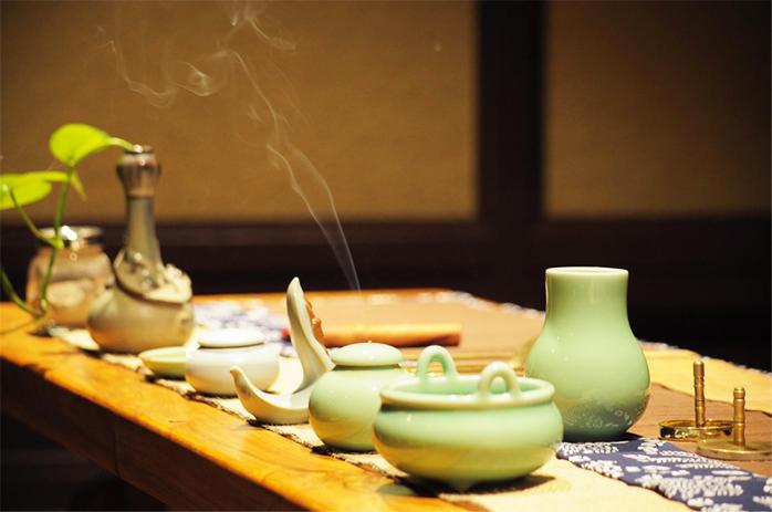中式设计空间传统香文化 无形之道,雅之所在