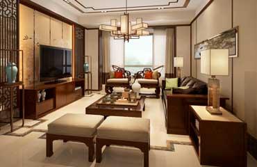 客厅中式装修,客厅中式设计,客厅中式装修效果图,客厅装修案例
