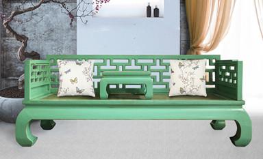 传统家具:品茶论道罗汉床