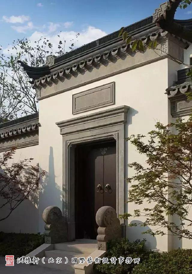 11款中式风格住宅大门设计效果图