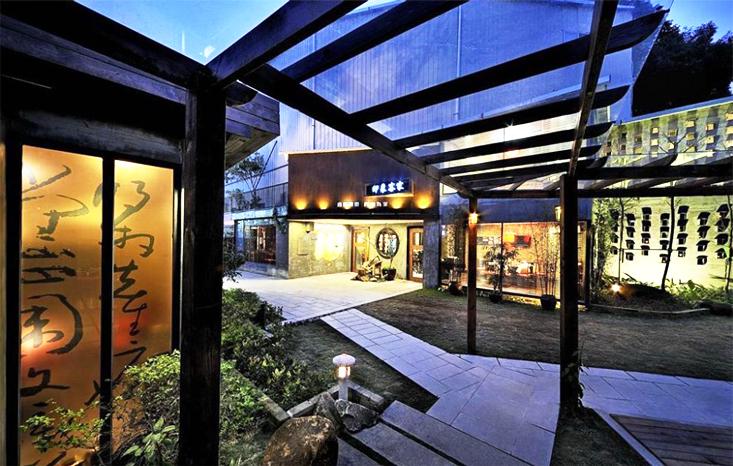 中式茶馆空间  以清虚宁静之笔墨,挥毫茶境的古朴大雅
