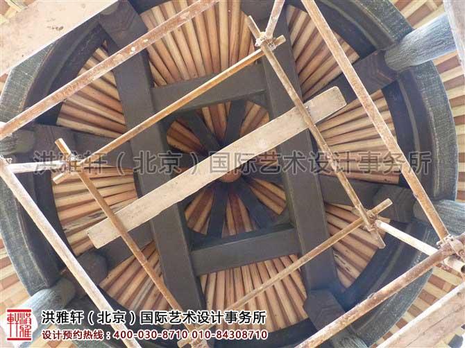 北京昌平四合院装修施工现场