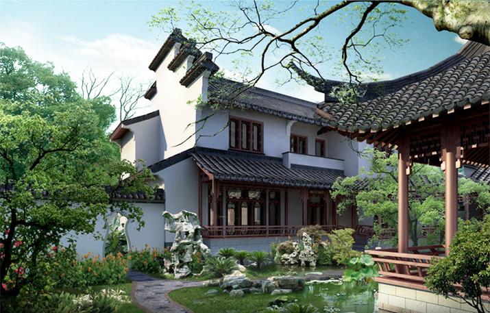 雅静相宜 妙趣横生 中式江南庭院的深远妙意