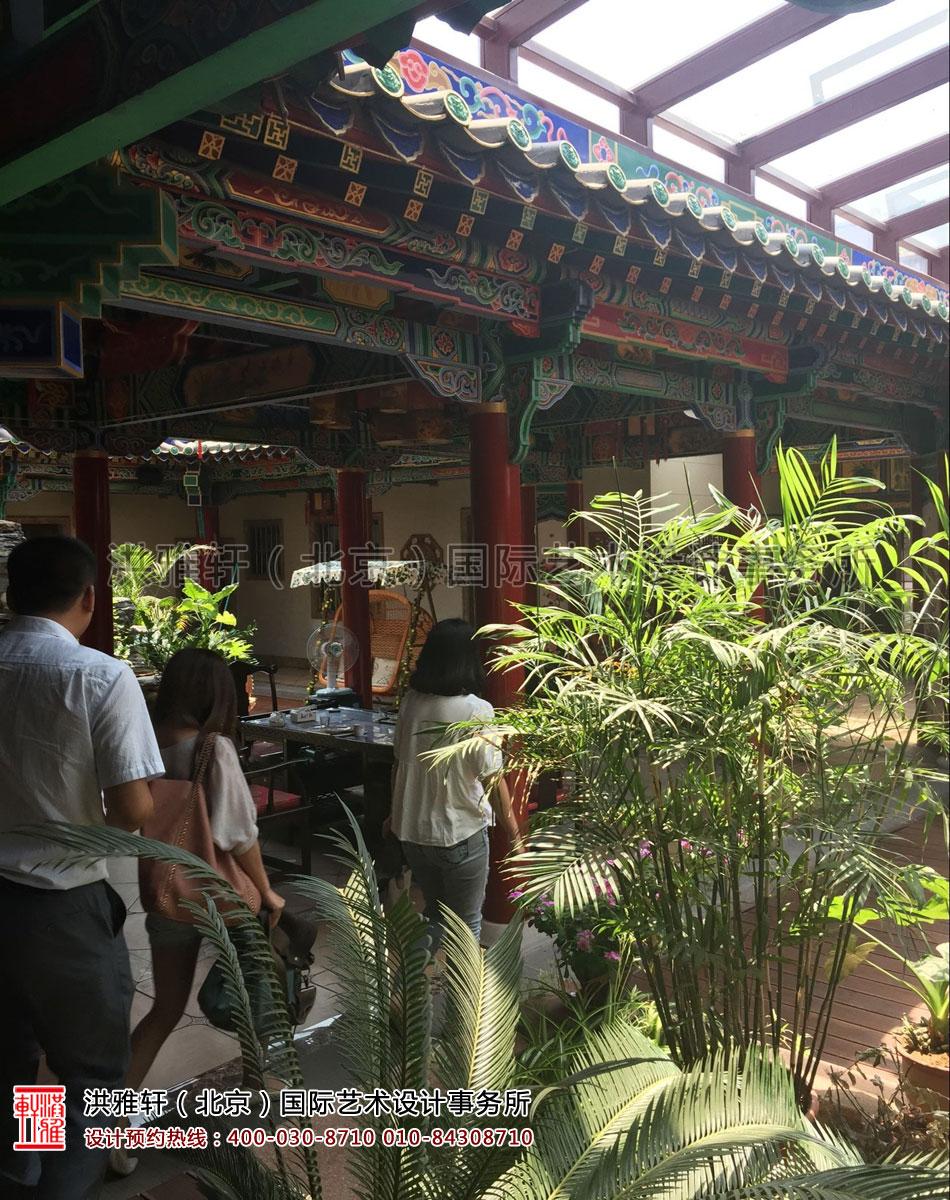 中式四合院景观
