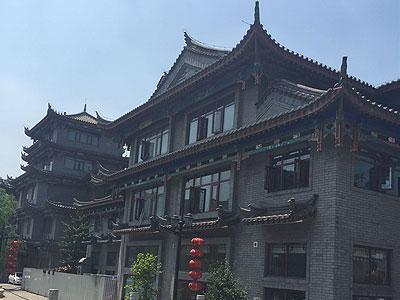 唐山滦县滦州古城四合院装修施工现场