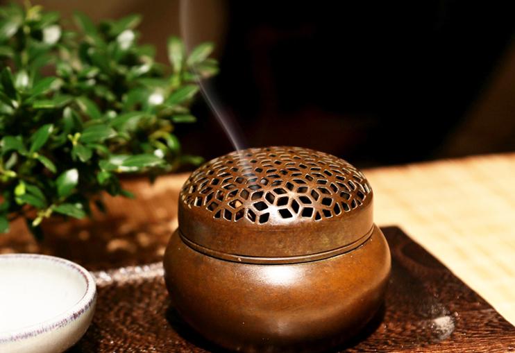 中国传统香道文化  于中式设计空间焚香品雅豁然于心