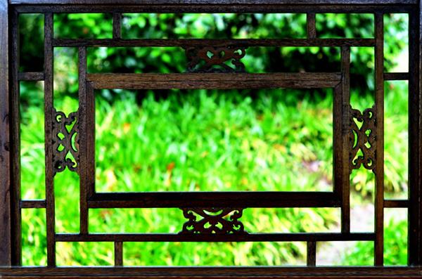 中式传统窗棂之风韵  尽显古典庭院悠然情