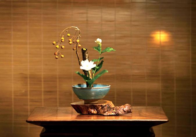 中式空间灵雅风物——传统插花  引人入境,动人心魂