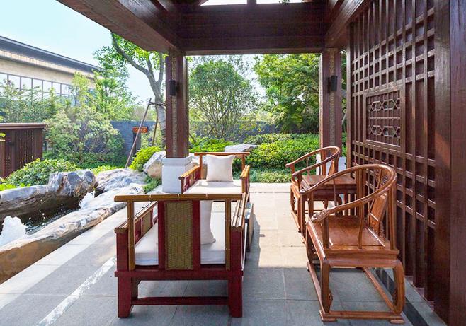 园林庭院景观演绎中式宅院的文化古韵与美学意趣