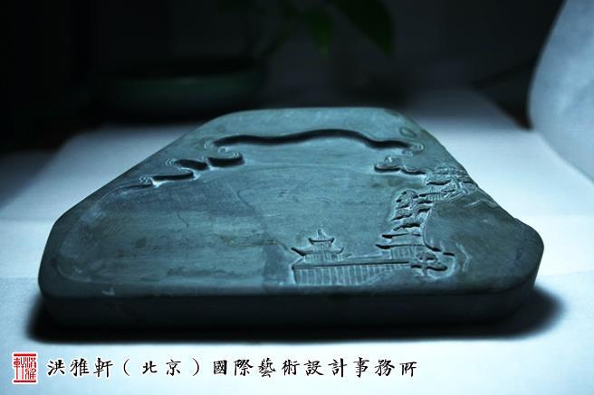 中式书房砚台