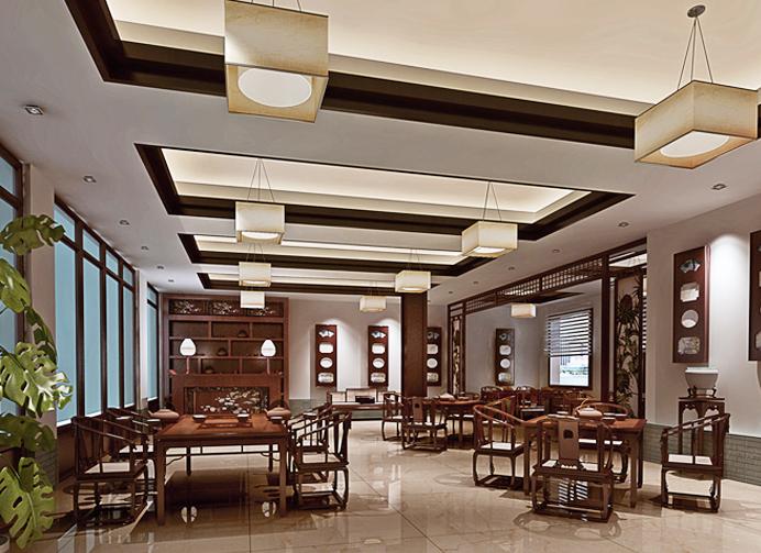 中式设计茶馆陈设装饰文化  演绎宁静不喧的古风古韵