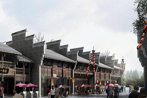 中式古建印记中国传统文化的内蕴与精神