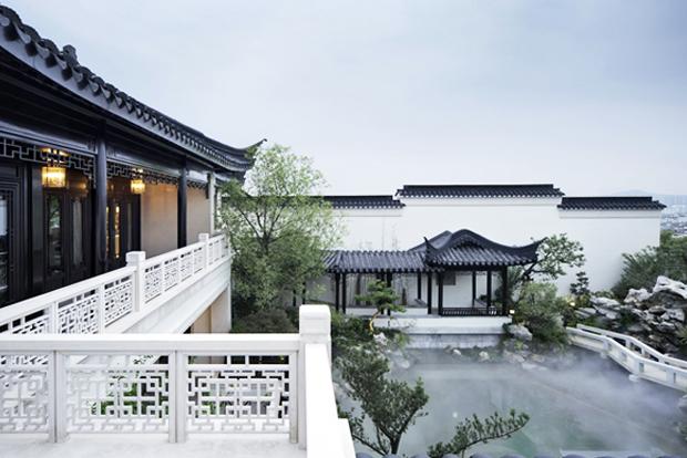 现代中式设计风格别墅宅院风水学说浅谈