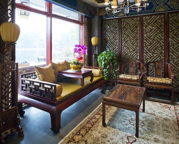 中式装修空间美学营造——变化交融,中和自然