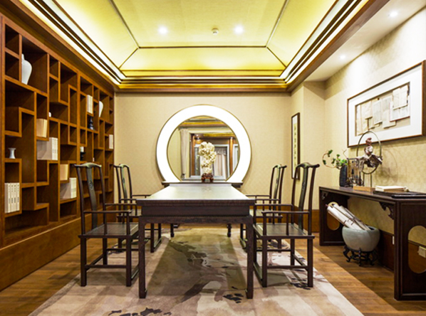 不同风格中式设计书房古典家具陈设之道