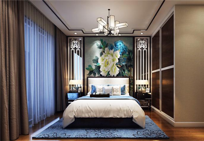 中式风格卧室空间淡雅妙境设计之法