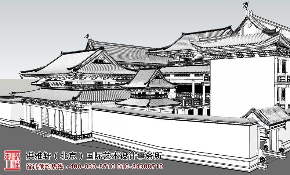 浙江省乐清市白莲禅寺寺院规划设计