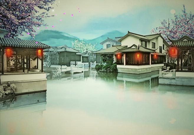 中式风雅生活之境——水墨江山,诗意栖居