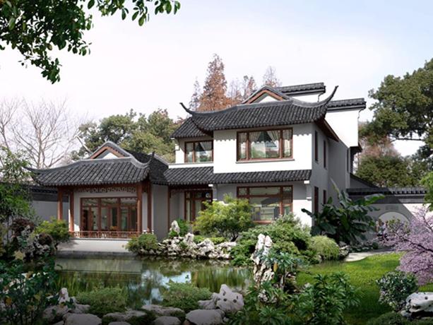 满架蔷薇一院香——中式江南风格别墅庭院之意境