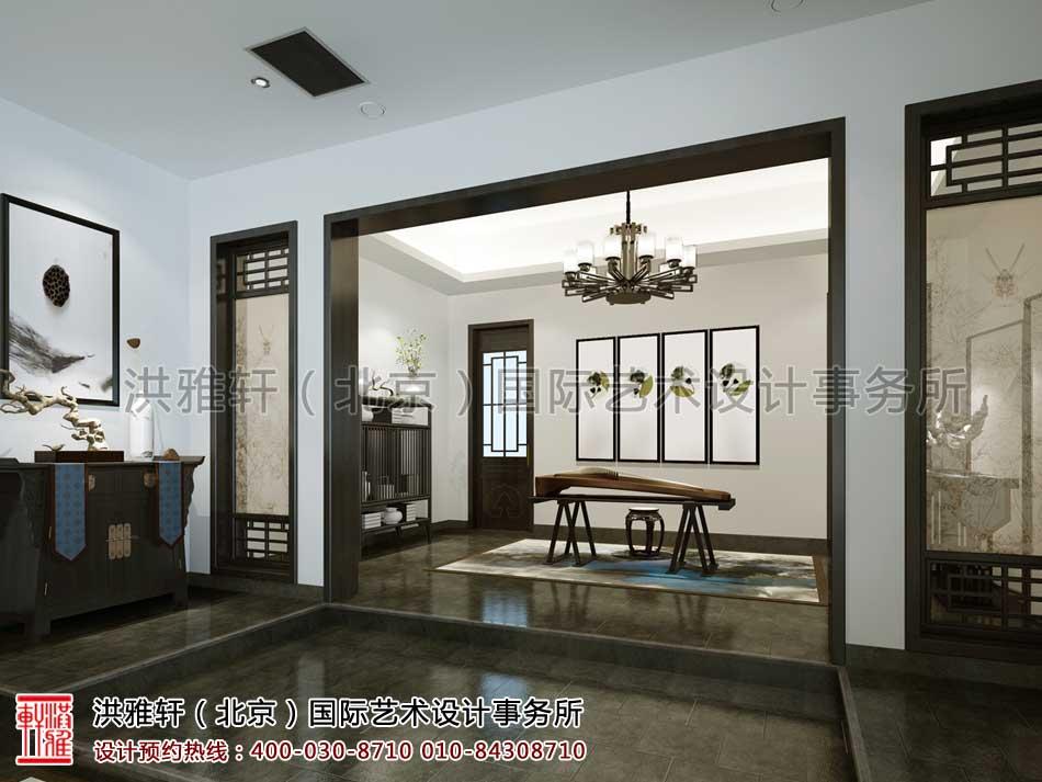 新中式风格会所空间设计